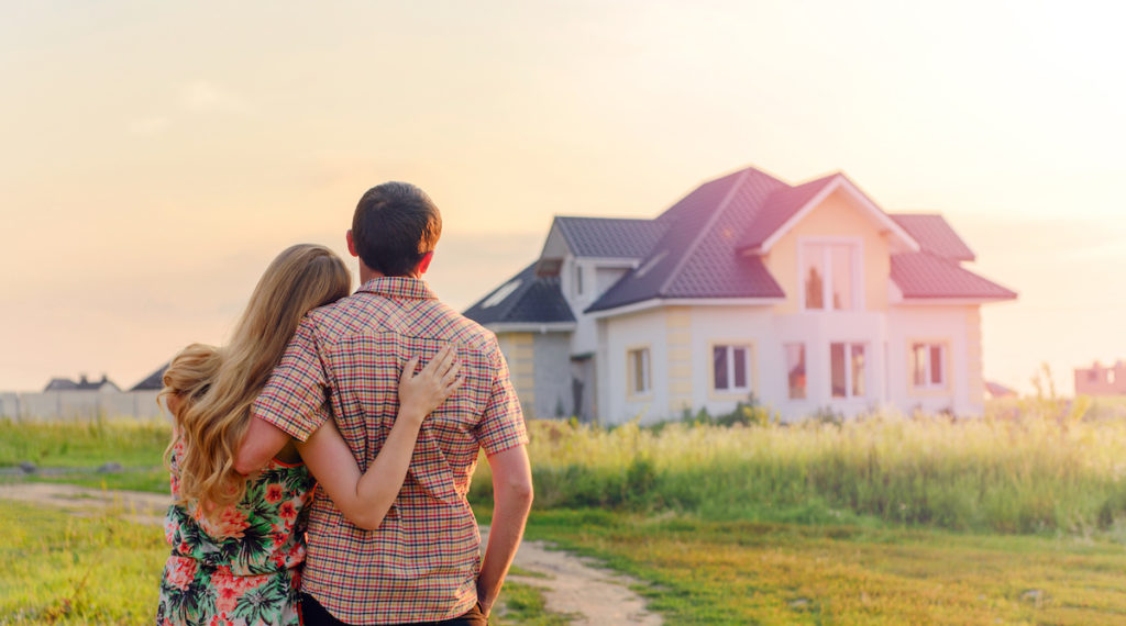 couple considering investing in real estate
